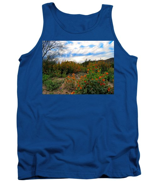 Desert Wildflowers In The Valley Tank Top