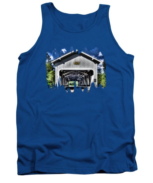 Dorena Covered Bridge 1949 Tank Top