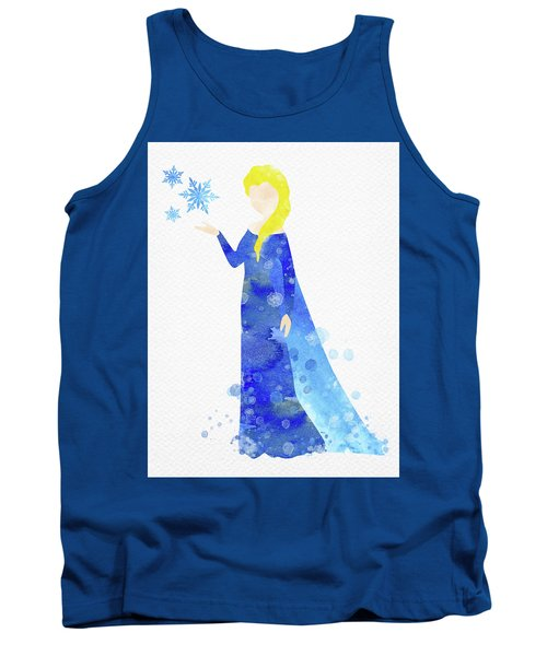 Elsa Watercolor Tank Top