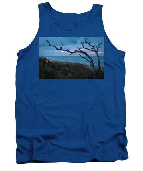 Emerald Isle Obx - Blue Hour - North Carolina Summer Beach Tank Top