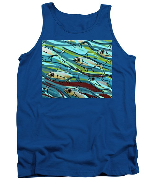F Is For Fish Tank Top