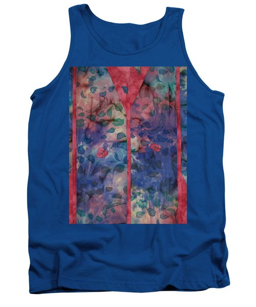 Falling  Floating Tank Top