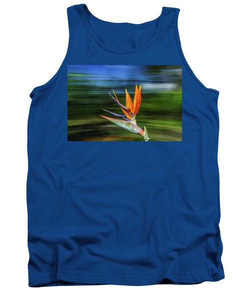 Flying Bird Of Paradise Tank Top