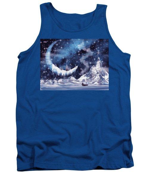 Frozen Moon Tank Top