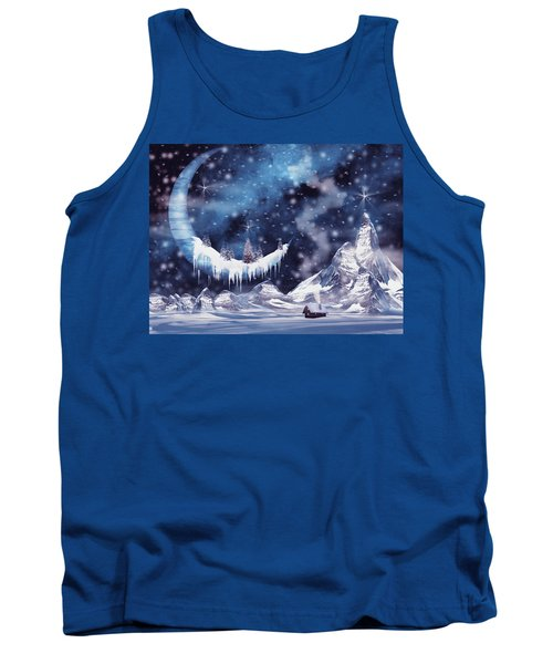 Frozen Moon Tank Top