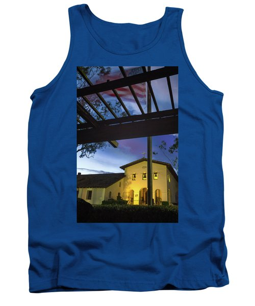 Half Staff At The Slo Mission Tank Top
