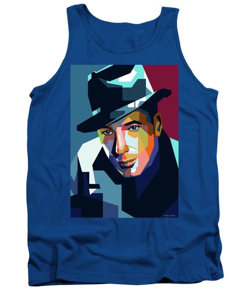 Humphrey Bogart Tank Top