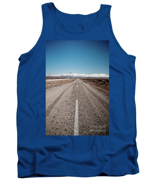 infinit road in Turkish landscapes Tank Top