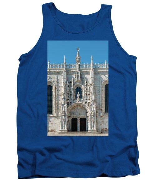 Jeronimos Monastery, Portugal Tank Top