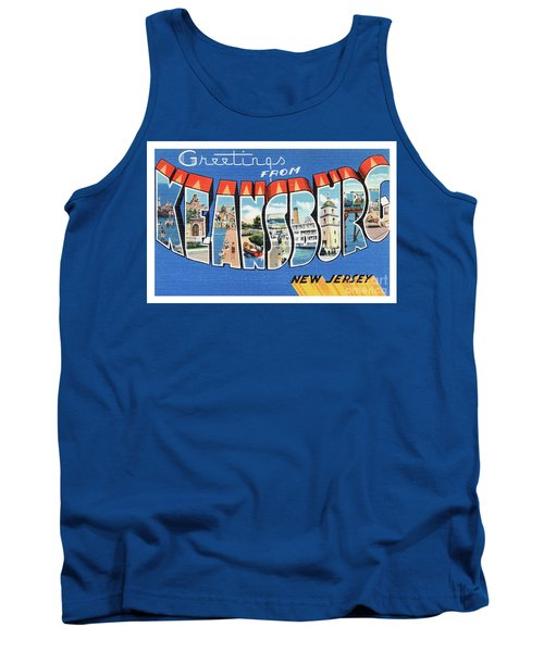 Keansburg Greetings Tank Top