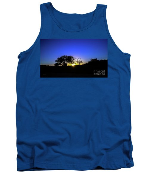 Last Light Texas Hill Country Paradise Canyon Sunset 8053a1 Tank Top