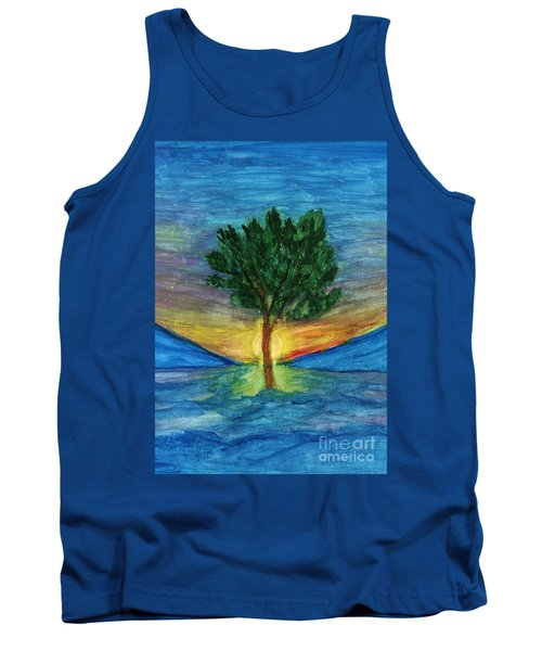 Lonely Pine Tank Top