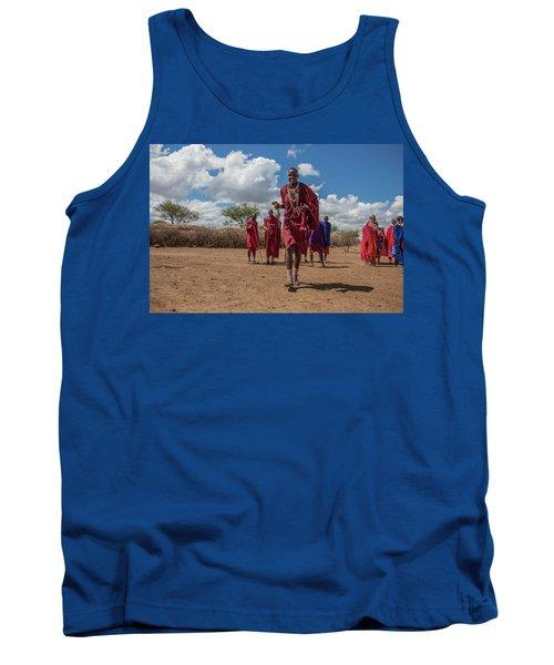 Maasai Welcome Tank Top