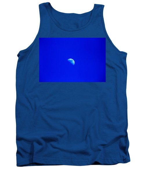Moon In A Daytime Sky Tank Top