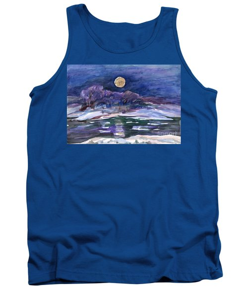 Moon Landscape Tank Top