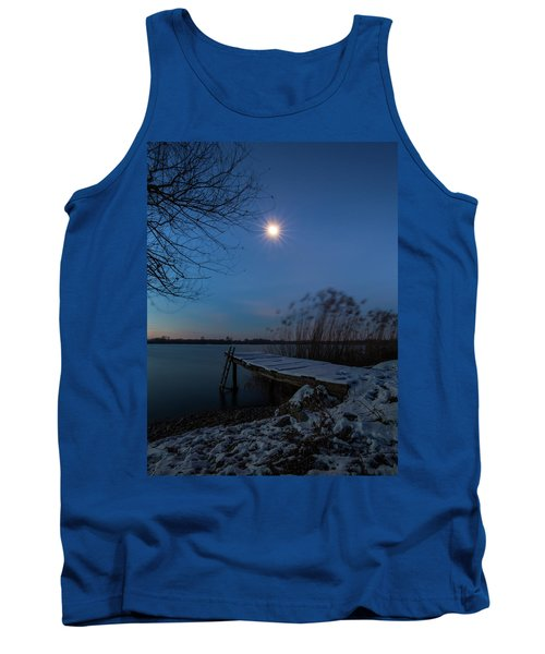 Moonlight Over The Lake Tank Top