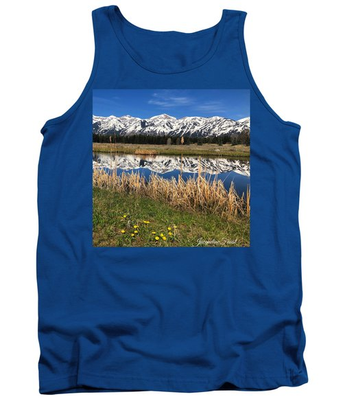 Mountain Reflection Tank Top