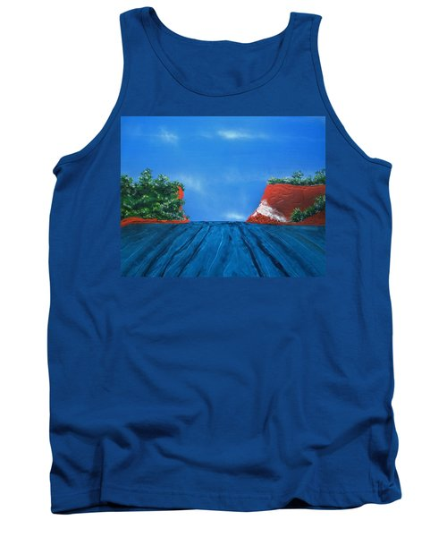 Mouth Of The Hay River Tank Top