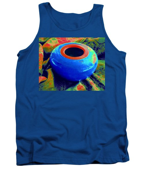 My Blue Bowl -  The  Gift Tank Top