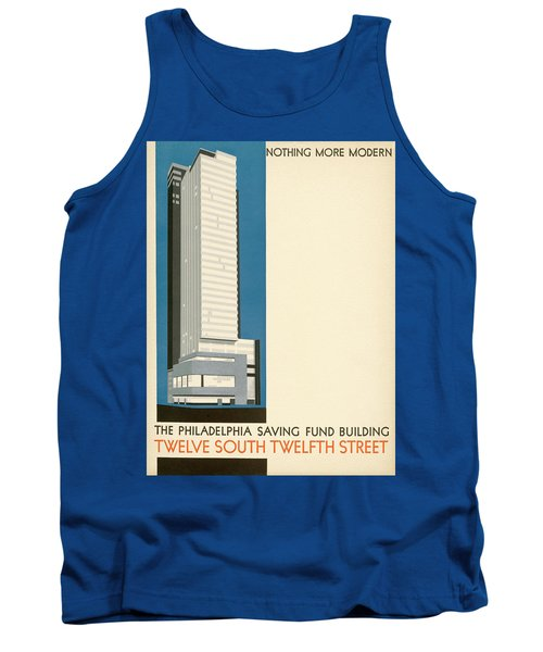 Nothing More Modern The Philadelphia Savings Fund Society Building, 1932 Tank Top