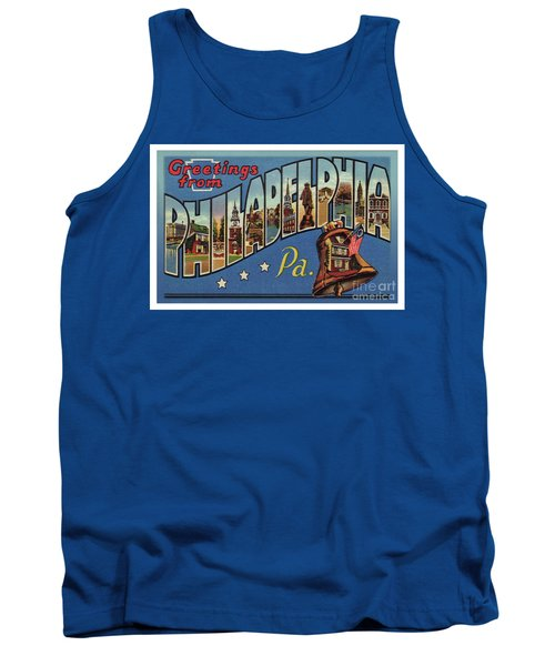 Philadelphia Greetings Tank Top