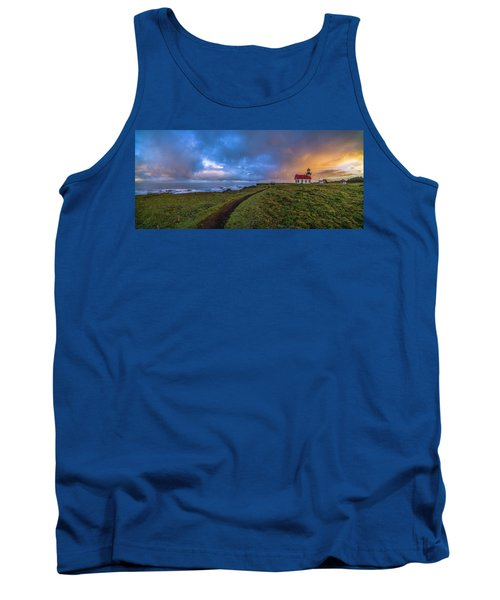 Point Cabrillo Light Station Panorama Tank Top