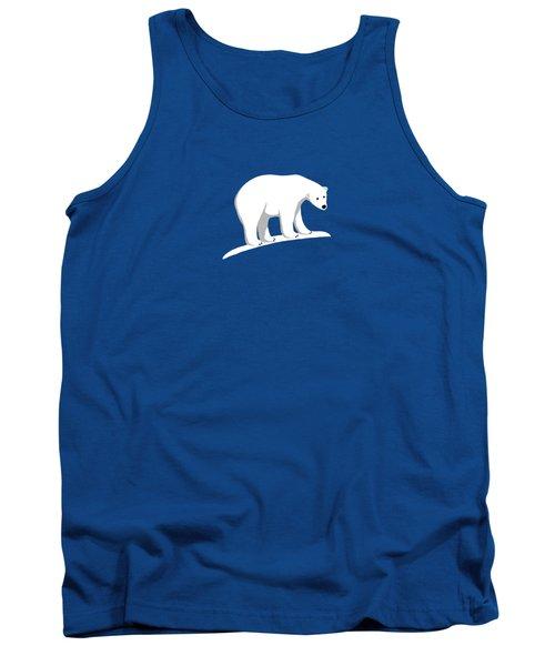 Polar Bear Shirt Tank Top