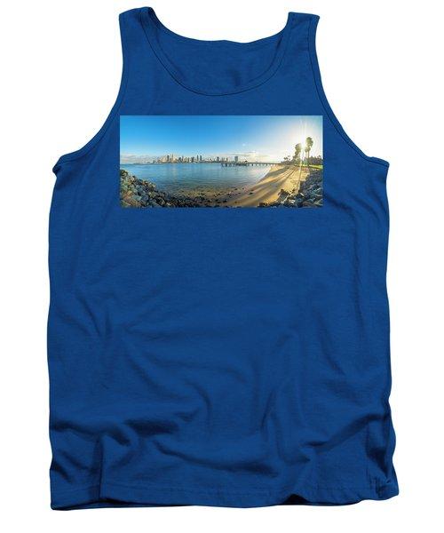 San Diego Bay - Panorama Tank Top