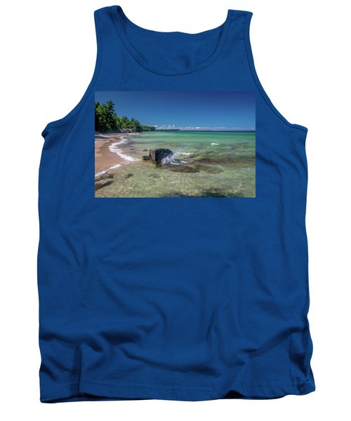 Secluded Beach Tank Top