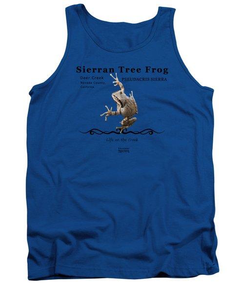 Sierran Tree Frog Pseudacris Sierra Tank Top