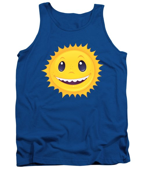 Smiley Sun Tank Top