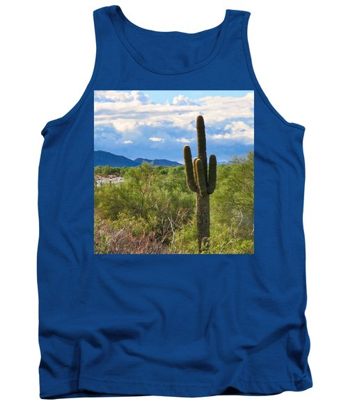 Sonoran Desert Landscape Post-monsoon Tank Top