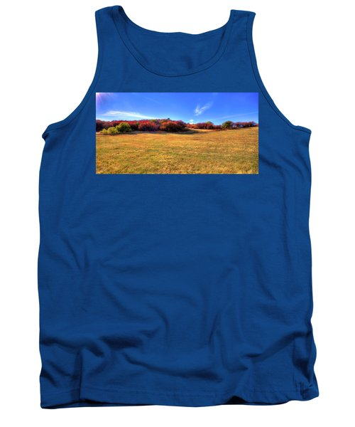 Tank Top featuring the photograph Sun On Magpie Forest by David Patterson