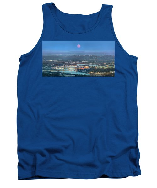 Super Moon Over Chattanooga Tank Top