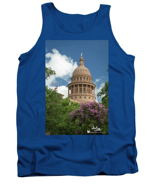 Texas Capital Building Tank Top