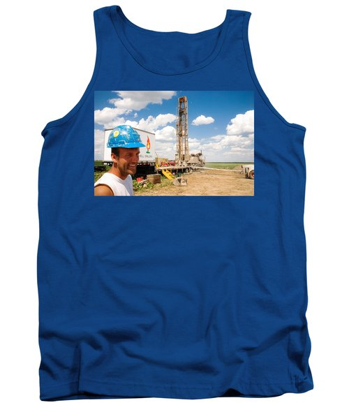 The Gas Man Tank Top