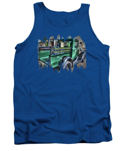 Tom's Electric Truck Tank Top