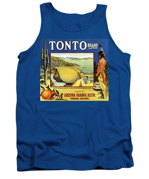 Tonto Arizona Oranges 1926 Tank Top