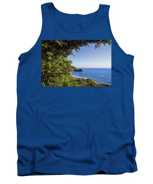 Trees And Ocean Tank Top