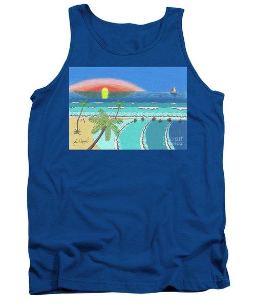 Tropical Sunrise Tank Top