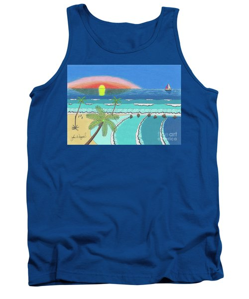 Tropical Sunrise Tank Top