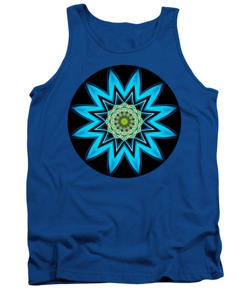Turquoise Star Tank Top
