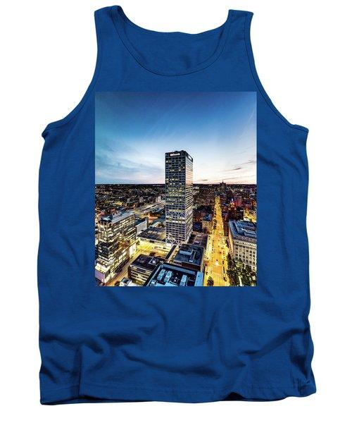 Tank Top featuring the photograph Us Bank Tower by Randy Scherkenbach