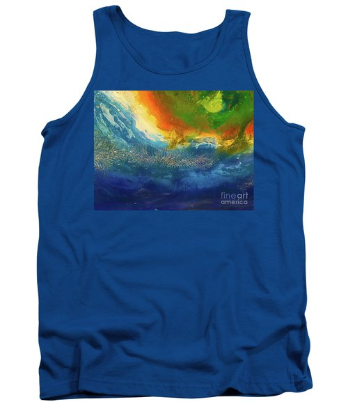 View From Space Tank Top