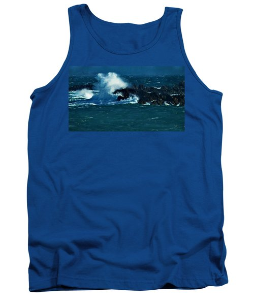 Waves On The Rocks Tank Top