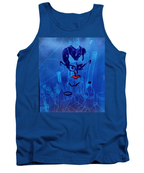 When His Face Is Blue For You Tank Top