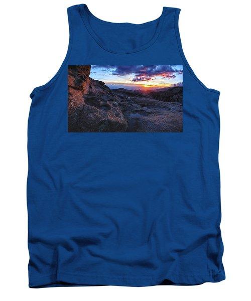 Windy Point Sunset Tank Top