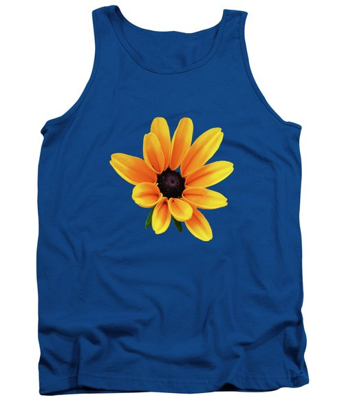Yellow Flower Black Eyed Susan Tank Top