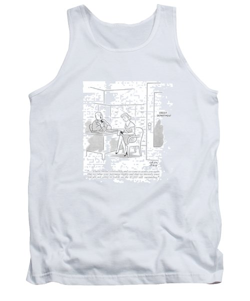 . . . A Most Cordial Relationship Tank Top