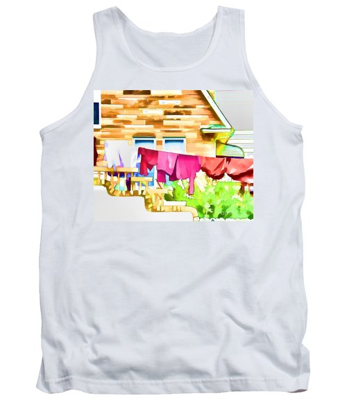 A Summer's Day - Digital Art Tank Top